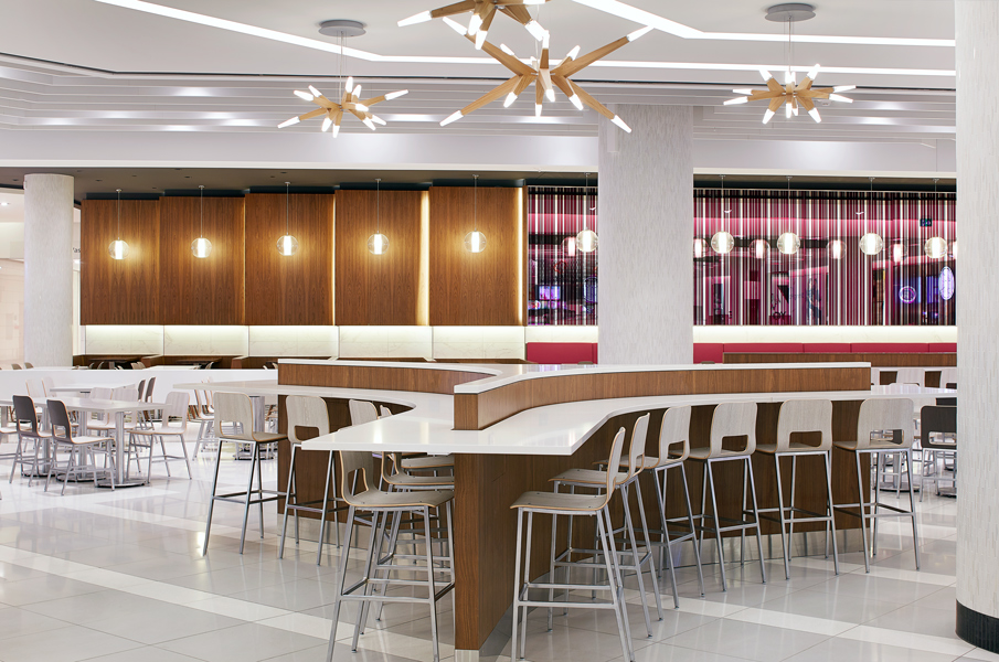 Grands prix du design rideau centre dining hall grands for Hall to dining designs